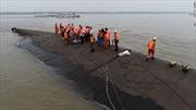 Không có dấu hiệu sự sống bên trong tàu chìm Trung Quốc