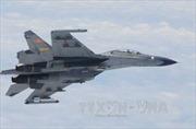 Không quân Trung Quốc tập trận trên bầu trời Bắc Kinh