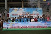 """Trường THCS Ngọc Lâm (Hà Nội) đăng quang """"Festival bóng đá học đường U13"""""""