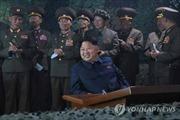 Lãnh đạo Triều Tiên quan sát tập trận bắn đạn thật ban đêm