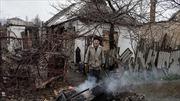 Đấu pháo ở Donetsk