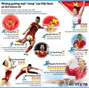 Những gương mặt 'vàng' của Việt Nam tại SEA Games 28