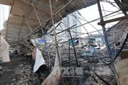 Cháy khu lán trại ở Linh Đàm, cả ngàn công nhân tháo chạy