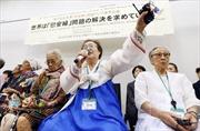 Nhật Bản đề nghị Hàn Quốc ngừng sử dụng cụm từ 'nô lệ tình dục'