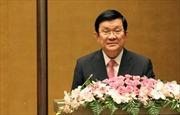 Bài phát biểu của Chủ tịch nước tại Lễ kỷ niệm 90 năm Ngày báo chí cách mạng Việt Nam