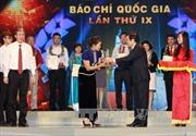 Danh sách các tác phẩm đoạt Giải báo chí quốc gia 2014