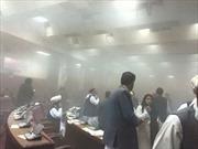 Đấu súng, nổ lớn tại trụ sở quốc hội Afghanistan