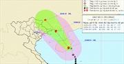 Gần sáng nay, tâm bão số 1 đi vào Đông Bắc vịnh Bắc Bộ