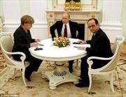 Lãnh đạo Pháp, Đức, Nga điện đàm về vấn đề Ukraine