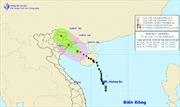 Trong 12 giờ tới, bão số 1 đi vào đất liền tỉnh Quảng Ninh