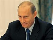 Tổng thống Putin đạt mức tín nhiệm cao kỷ lục