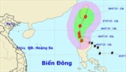 Bão Linfa tiến gần Biển Đông