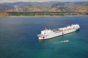 Tàu Hải quân Hoa Kỳ cập cảng Đà Nẵng