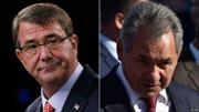 Bộ trưởng Quốc phòng Nga, Mỹ điện đàm về Syria