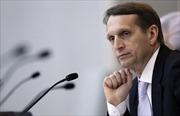 Chiến đấu cơ Pháp áp sát máy bay chở Chủ tịch Hạ viện Nga