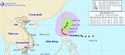 Bão Koppu không hướng vào Biển Đông