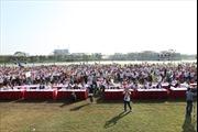 """Hàng ngàn người """"Chạy vì trái tim"""" tại Công viên Yên Sở"""