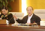 Thông qua Quy chế làm việc của Ủy ban Thường vụ Quốc hội