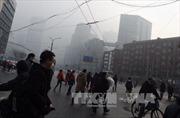 """Trung Quốc lại báo động """"đỏ"""" ô nhiễm khói mù ở thủ đô"""