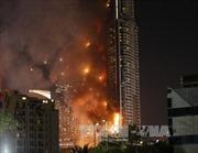 Cháy lớn tại khách sạn UAE sát giao thừa