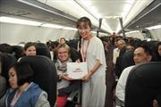 400.000 vé khuyến mại giờ vàng bay quốc tế cùng Vietjet