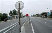 Mở dải phân cách đảm bảo an toàn giao thông QL1 qua Quảng Nam