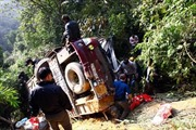 Xác định danh tính 4 nạn nhân vụ ô tô lao vực ở Hà Giang