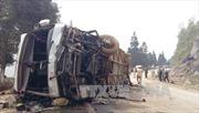 Xe khách gây tai nạn liên hoàn trên đường Sa Pa-Lào Cai