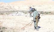 Xem công binh Nga gỡ mìn ở Palmyra