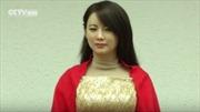 Nữ robot xinh đẹp giống hệt người thật