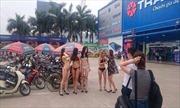 Phạt Điện máy Trần Anh vì cho người mẫu mặc bikini tiếp thị