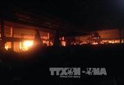 Quảng Ngãi: Cháy chợ Nghĩa Kỳ gây thiệt hại hàng trăm triệu đồng