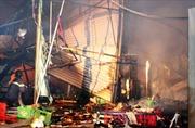 Cháy chợ Điền Hải, nhiều hộ kinh doanh thiệt hại