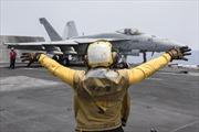 Mỹ oanh kích các mục tiêu của IS từ Địa Trung Hải