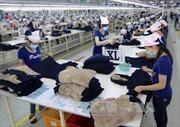 2.000 công nhân may Panko Tam Thăng trở lại làm việc