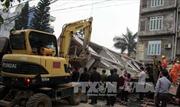 Sạt lở đất gây sập nhà ở thành phố Đà Lạt