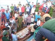 Phản đối hành vi dùng vũ lực với tàu cá và ngư dân Việt Nam