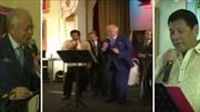 Ông Duterte và Thủ tướng Malaysia hát karaoke