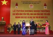 Hà Nội tuyên dương nhà giáo mẫu mực tiêu biểu