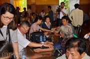 Khám chữa bệnh miễn phí cho kiều bào Campuchia khó khăn