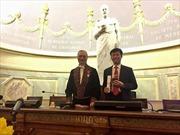 Nhà khoa học Việt Nam được phong Viện sĩ Viện Hàn lâm Y học Pháp