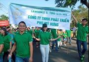 Bảo hiểm Phú Hưng tham gia đi bộ từ thiện Lawrence S. Ting