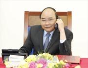 Thủ tướng điện đàm với Quyền Tổng thống kiêm Thủ tướng Hàn Quốc Hwang Kyo Ahn