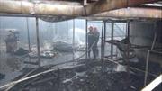 Hỏa hoạn thiêu rụi gần 1.000 mét vuông xưởng gỗ ở Bình Dương