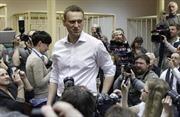 Lãnh đạo đối lập Nga đối mặt với 5 năm tù treo, mất cơ hội tranh cử tổng thống