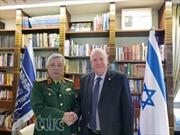 Tổng thống Israel tiếp Thứ trưởng Bộ Quốc phòng Nguyễn Chí Vịnh