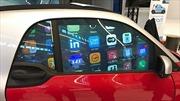 Mercedes biến kính ô tô thành màn hình tinh thể lỏng
