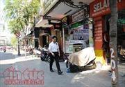 Vỉa hè nhiều tuyến phố TP Hồ Chí Minh đang dần thông thoáng