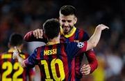 Vợ sắp cưới làm mình làm mẩy,  Messi đành vào thánh đường vắng bạn thân Gerard Pique