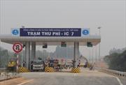 Thông xe nút giao IC7 cao tốc Nội Bài – Lào Cai
